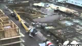 accident d une pompe a beton