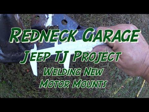 Jeep Wrangler 2.5 / 4.0 Rebuild Series - New Engine Motor Mounts Welded