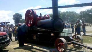 Gaar Scott portable engine at NTA in Wauseon Ohio