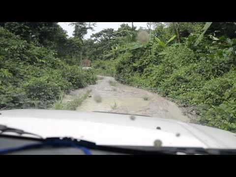 Travelling by road in the D.R. Congo