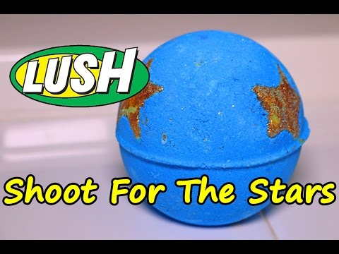 Thumbnail: LUSH - Shoot for the Stars Bath Bomb - DEMO - Underwater View - Review Christmas 2016