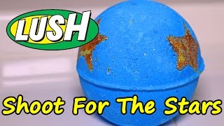 LUSH - Shoot for the Stars Bath Bomb - DEMO - Underwater View - Review Christmas 2016 & 2017