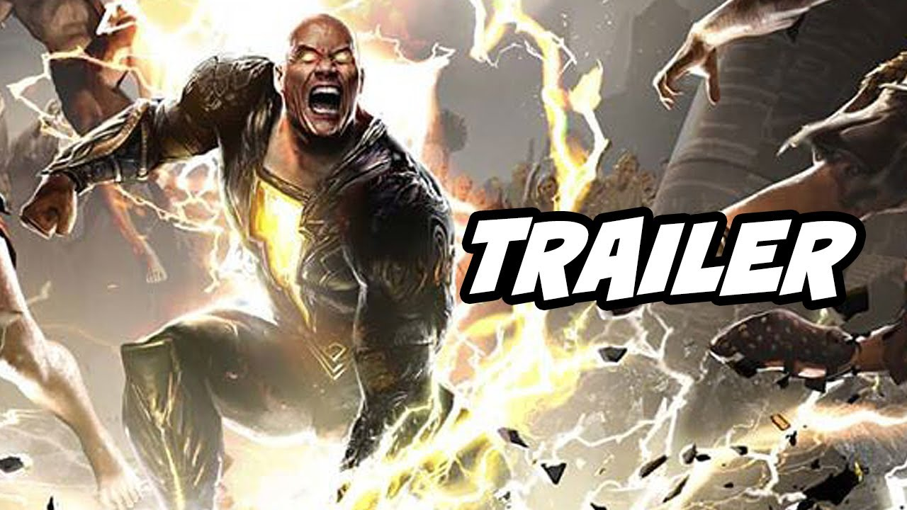 Black Adam Trailer 2021 - Justice League Easter Eggs and New Characters Breakdown