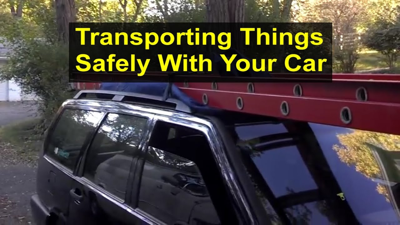 Ladder Roof Rack >> Securing things to the top of your vehicle for transportation or delivery. - VOTD - YouTube