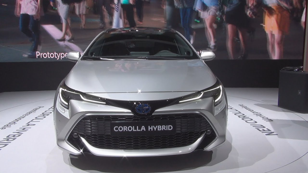 Toyota Corolla Touring Sport Hybrid 2019 Exterior And Interior