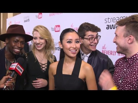 Smosh Squad Talks About Their Most Scandalous Moment On Set  Streamy Awards 2016