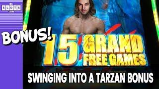 🌴 SWINGING With Tarzan 💰 Big Bonus Time @ Las Vegas ✪ BCSlots (S. 19 • Ep. 2)