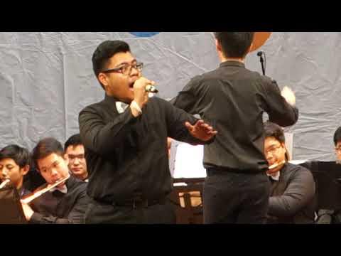 Indonesia Jaya - Canisius Wind Ensemble ft. Antonio #IOEF2018