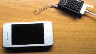 Solar iPhone Charger Review