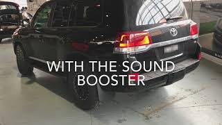 Toyota Land Cruiser Sound Booster Pro