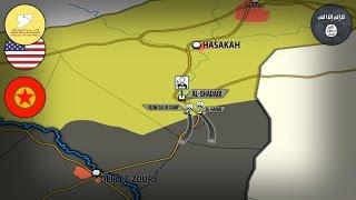 4 мая 2017. Военная обстановка в Сирии. Атака ИГИЛ на курдов и спецназ США. Русский перевод.