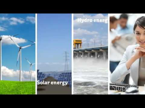 WIND SUN OR WATER ? RENEWABLE ENERGY