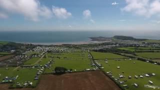 Camping@Horton,Gower Wales UK- DJI Phanom 4