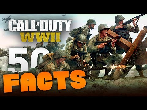 50 WORLD WAR 2 BETA FACTS! - 50 Facts & Things You May Not Know About Yet (COD WW2 Beta)