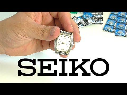 Seiko – поменял батарейку, но сломал стекло...