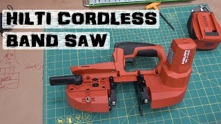 BOLTR: Hilti Compact Band Saw   Quality Problems