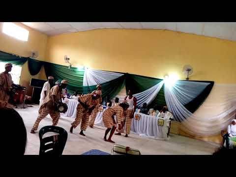 Display of Bata dance by students Vocational Education Federal College of Education (Special),Oyo