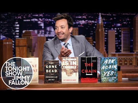 Jimmy Fallon Reveals the 2019 Tonight Show Summer Reads Book Club Nominees