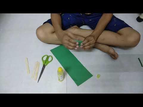 Paper Folder Fan By Ved Desai