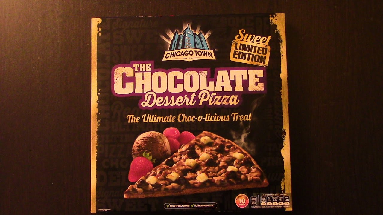 Chicago Town Chocolate Pizza Real Review