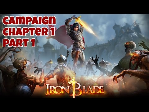 Iron Blade: Medieval Legends RPG (by Gameloft) - iOS / Android - Campaign Gameplay 01