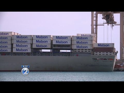Declining fuel prices prompt Matson to decrease surcharge