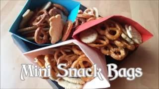 DIY Mini Snack Bags  |  Gör det själv: Mini Snack Påsar