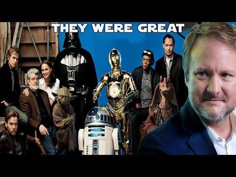 Rian Johnson praises Star Wars Prequels and George Lucas