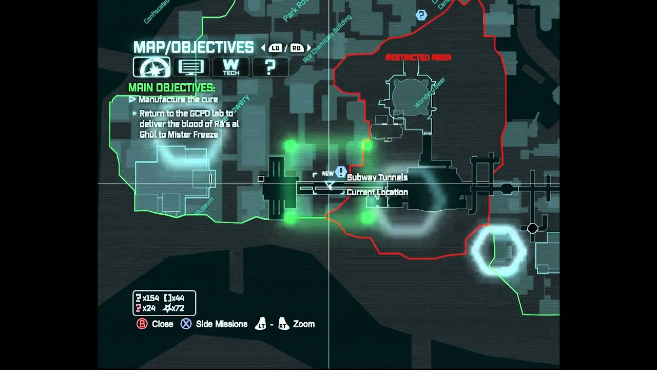 Arkham Knight Subway Map Freeze.23 Batman Arkham City Escaping The Underground And A New Inmate