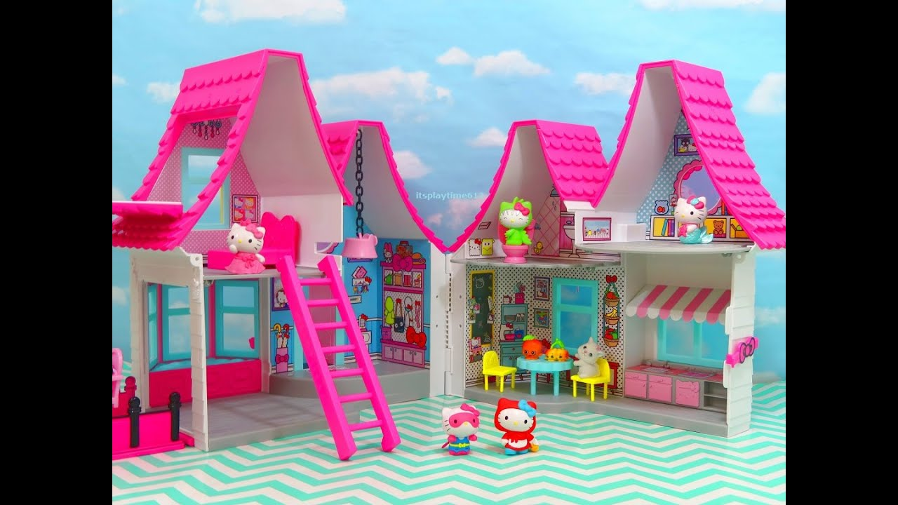 Hello Kitty House hello kitty dollhouse new toys review | itsplaytime612 - youtube