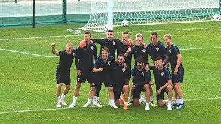 Открытая тренировка сборной Хорватии. Croatia National Team open-to-public training session