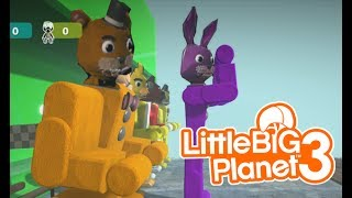 LittleBIGPlanet 3 Five Nights at Freddy s CRAZY DEATHRUN Playstation 4