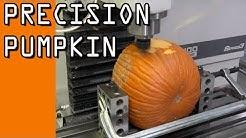 Precision Machining a Pumpkin  WW117