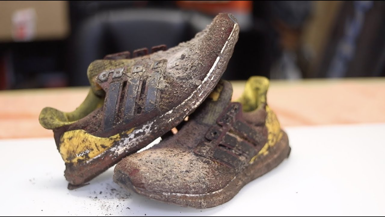 4ad9f92a72f87 Decimated  2400 ASU Ultra Boosts Back to BRAND NEW! - YouTube
