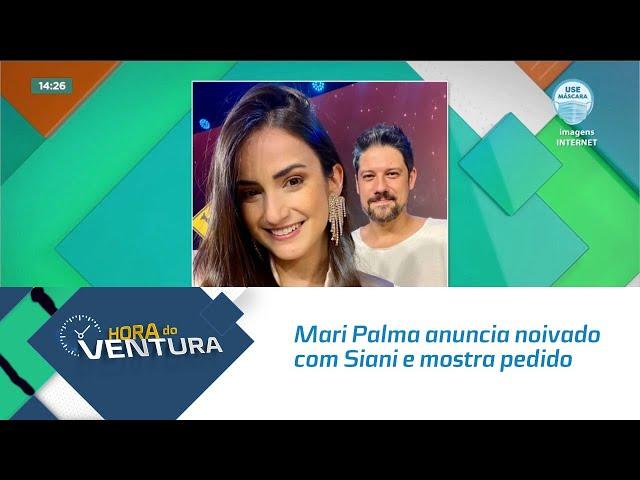 Mari Palma anuncia noivado com Siani e mostra pedido inesperado em 'Friends'