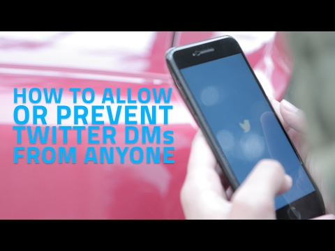 How to Allow or Prevent Twitter DMs From Anyone