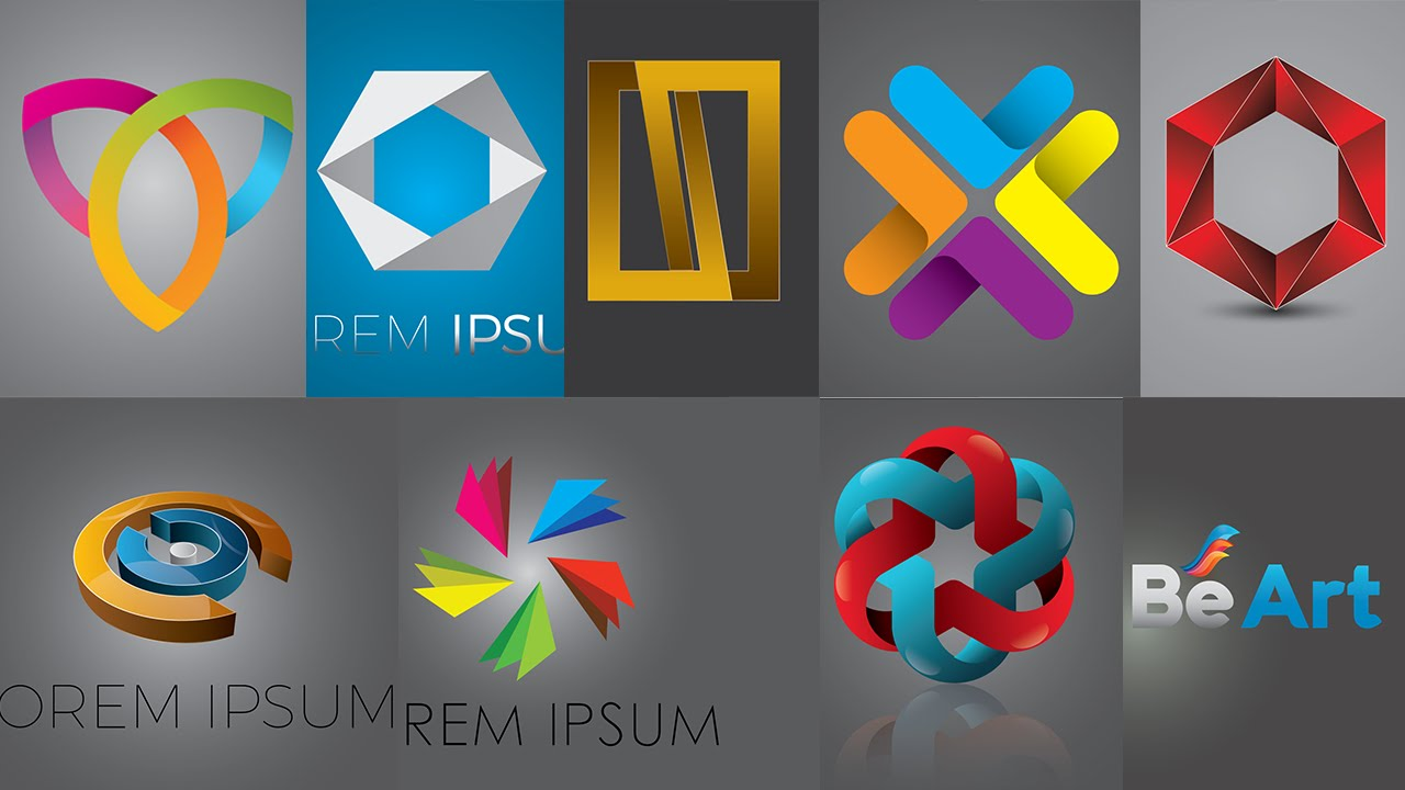 Top 10 Logo Design In Illustrator By Graphic Tweakz Youtube