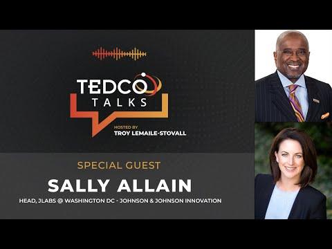 TEDCO Talks: Troy LeMaile-Stovall with Sally Allain, Head, JLABS @ Washington DC