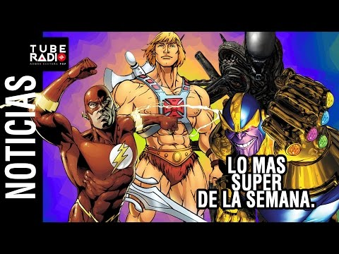 Noticias: Avenger Infinity Gauntlet, He-man, Alien 5, Flash, Glass, Crónicas de Narnia, Gemini man.