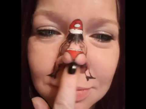 Funny Butt Nose Art!