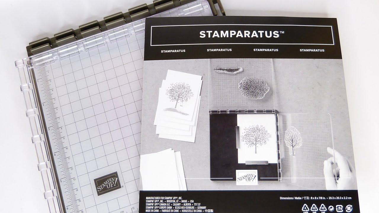 """Résultat de recherche d'images pour """"stamparatus stampin up"""""""