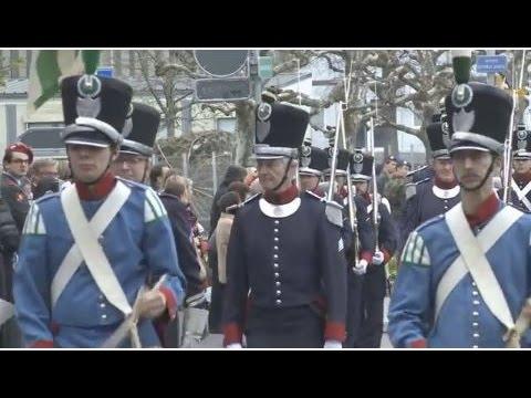 Prise d'armes Payerne 2016 par Etat de Vaud