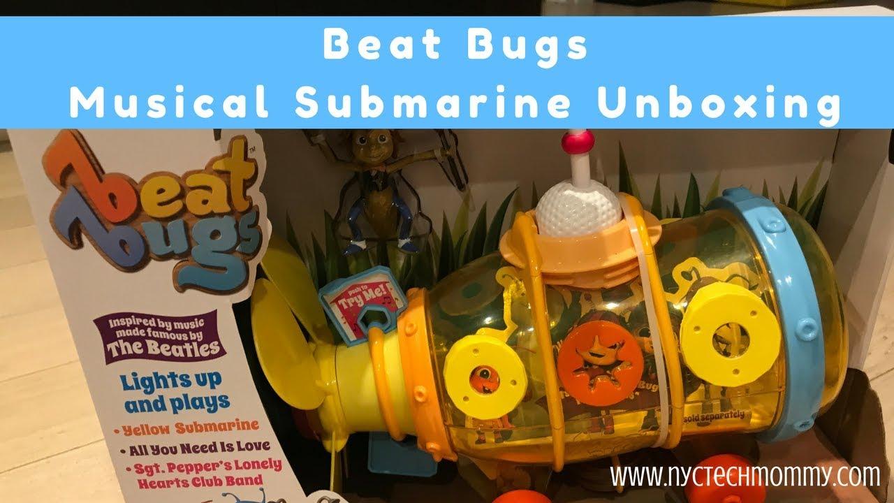 Beat Bugs Musical Submarine Unboxing - YouTube