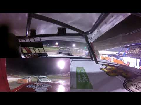 Wednesday night racing at I-94 Speedway, Fergis Falls, Minnesota. The team traveled the 45 miles north to competed in the Wissota 100. Jeff started his heat ... - dirt track racing video image