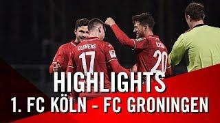 Traumtore beim Testspielsieg   1. FC Köln   Dominick Drexler   Jhon Cordoba   Christian Clemens