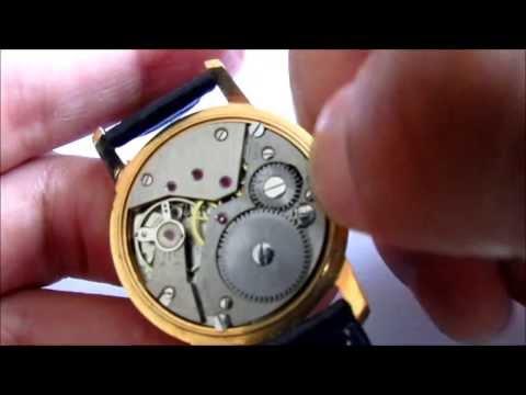 olma swiss made  17 jewels vintage wristwatch
