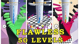 Stack fall - 50 Levels