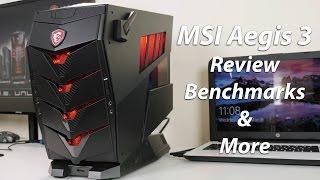 MSI Aegis 3 Kabylake Gaming Desktop Review (GTX 1070/7700)