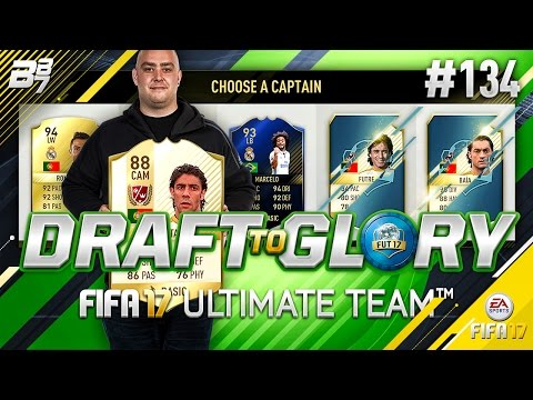 DRAFT TO GLORY! END OF THE WEEK PAIN! #134 | FIFA 17 ULTIMATE TEAM