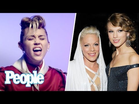 Miley Cyrus New Single & Video, Pink Picks Taylor Swift Over Katy Perry & More | People NOW | People